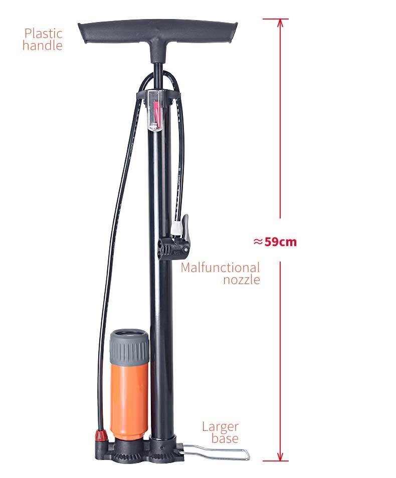 honor bicycle pump 6032-1